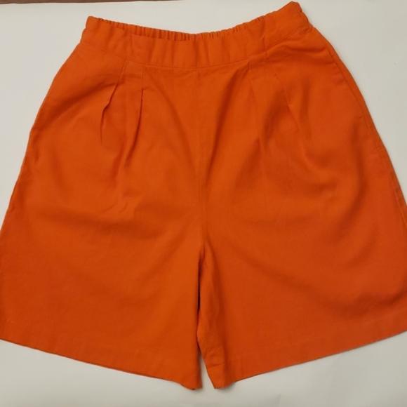 T.L.S Pants - Made in USA by T.L.S linen SKIRT- SHORTS